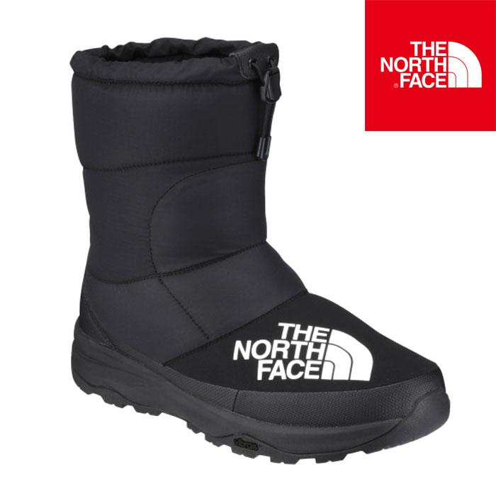 【送料無料】ノースフェイス ヌプシ ダウン ブーティー メンズ レディース ブーツ ウィンターシューズ 防寒 保温 撥水 ブラック THE NORTH FACE Nuptse Down Bootie NF51877