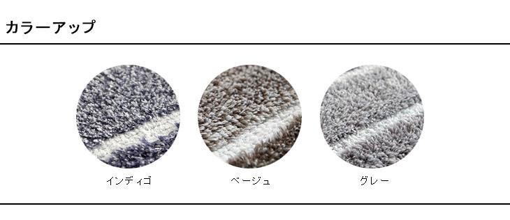 【在庫処分のため大特価】Natural Posture ナチュラルポスチャー マイクロファイバー グラデーション キッチンマット GM-901 約45×120cm(Sサイズ)