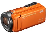 【送料無料(沖縄・離島除く)】JVC ビデオカメラEverio GZ-R300-D [オレンジ]SD対応 32GBメモリー内蔵 5m防水・防塵・耐衝撃フルハイビジョンビデオカメラ