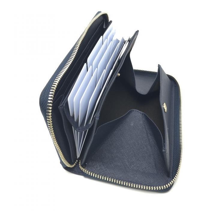 eb0c739cb685 carcru(カルクル) ラウンドファスナー長財布 ポップアップウォレット-メンズ財布