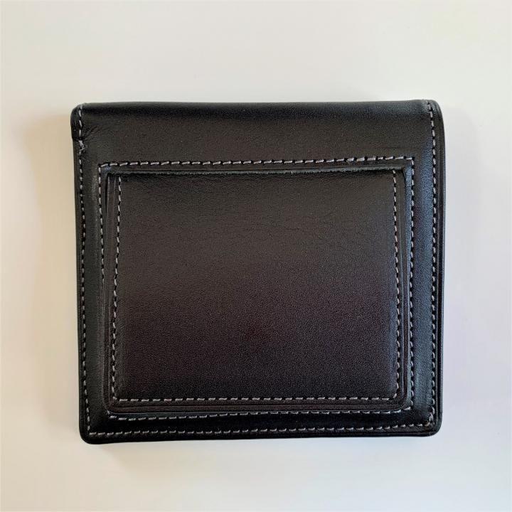 カードがたくさん入るのに薄い手の平財布(BOX小銭入れ付) BS03