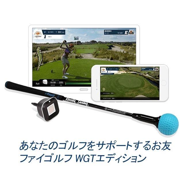 ファイゴルフ WGT Edition スイング分析 ゴルフシミュレーター ゲーム ゴルフ練習 PHG-100
