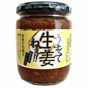 福島県産えごま入り 食卓の名脇役 早割クーポン うまくて生姜ねぇ 商舗 吾妻食品 240g 2個