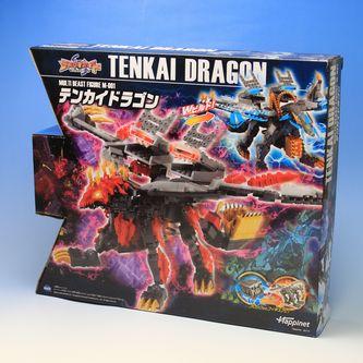 MULTI BEAST FIGUA M-001 【テンカイナイト】【対象年齢6才以上】【ブロックからフィギュアに!】TENKAI DORAGON-テンカイドラゴン-【ハピネット】