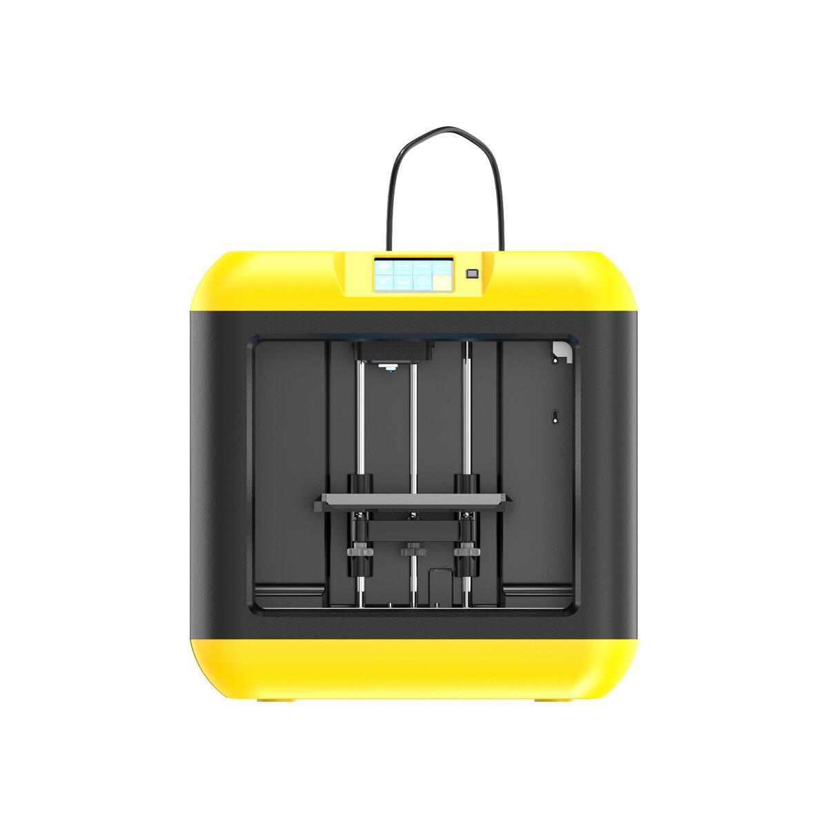 Flashforge デスクトップ 家庭用3D プリンター Finder Lite (イエロー) 送料無料
