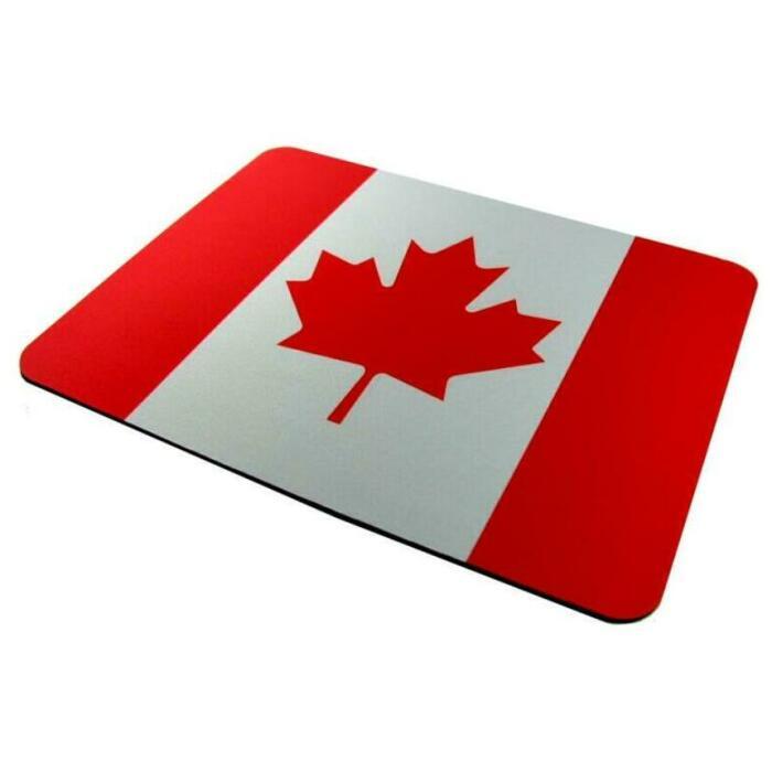 表面が滑らかでマウスの動きも良好なマウスパッド マウスパッド 大判 アウトレット 天然ゴム CANADA カナダ 至高 送料無料 国旗