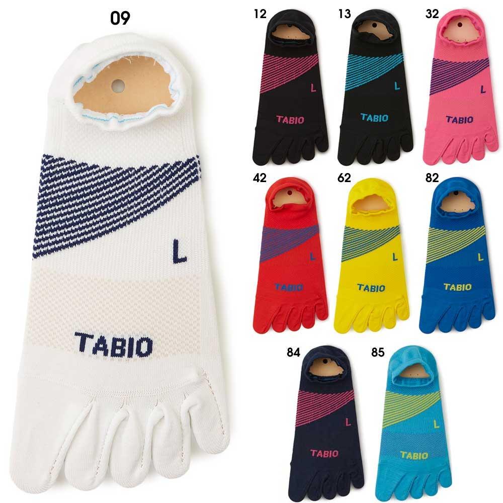 TABIO タビオ 限定生産 5本指 陸上ショートソックス SPORTS TRACK&FIELD SOCKS(tabiotf5b)