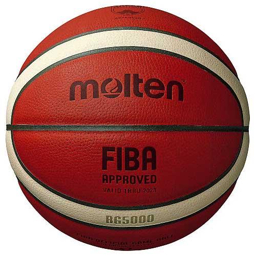 モルテン molten バスケットボール 6号球 B6G5000 天然皮革 国際公認球 検定球(b6g5000)