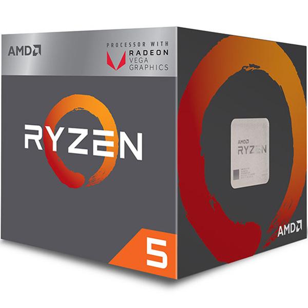 【4/1 24時間限定!全品ポイント最大22倍!!】(4月3日出荷予定) CPU AMD(エーエムディー) Ryzen 5 2400G BOX (プロセッサ名:Ryzen 5 2400G クロック周波数:3.6GHz ソケット形状:Socket AM4 二次キャッシュ:2MB)(JAN 0730143309080)