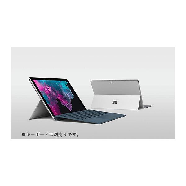 タブレットPC マイクロソフト(Microsoft) Surface Pro LGN-00017 プラチナ(シルバー) (OS種類:Windows 10 Home 画面サイズ:12.3インチ CPU:Core m3 記憶容量:128GB Office2019付き)