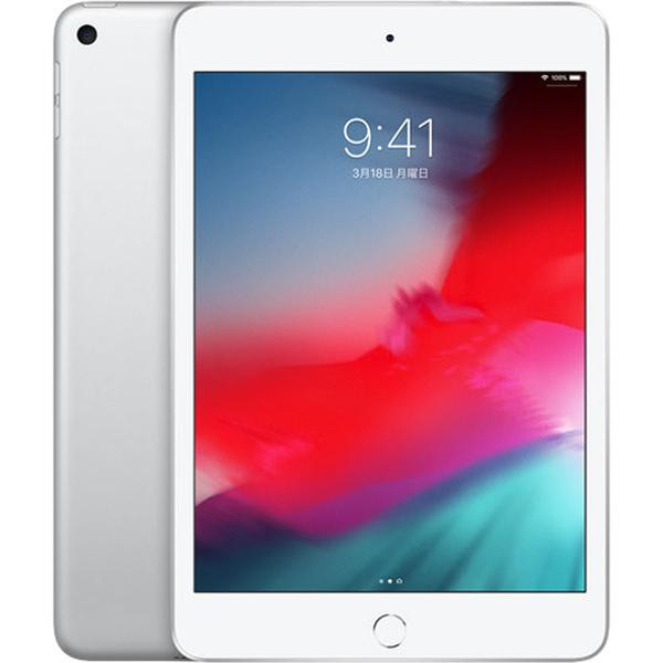 タブレットPC APPLE(アップル) iPad mini 7.9インチ 第5世代 Wi-Fi 64GB 2019年春モデル MUQX2J/A (シルバー CPU:Apple A12)(JAN 4549995066234)