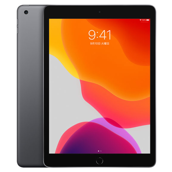 【最大1,200円OFFクーポン配布中★3月7日09:59まで】タブレットPC Apple アップル iPad 10.2インチ 第7世代 Wi-Fi 128GB 2019年秋モデル MW772J/A スペースグレイ OS種類 iPadOS 画面サイズ 10.2インチ CPU Apple A10 記憶容量 128GB 新品 4549995080704