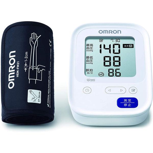 血圧計 オムロン OMRON HCR-7106 計測方式:上腕式 電源:乾電池 HCR7106 メモリー機能:1人×60回 日本正規代理店品 ご注文で当日配送 4975479417412 カフ式