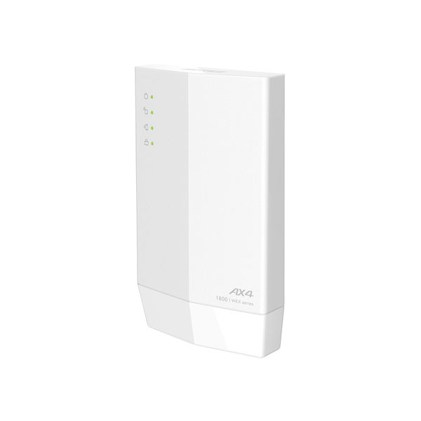 無線LAN中継機 アクセスポイント バッファロー BUFFALO AirStation HighPower WEX-1800AX4 ホワイト Wi-Fi6対応 無線LANタイプ:IEEE802.11a b g チープ 4981254057940 注目ブランド ax WiFi6 WEX1800AX4 TKIP 暗号化形式:WEP WPA ac n セキュリティ規格:WPA3 AES WPA2