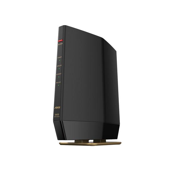 バッファロー BUFFALO 無線LANルーター Wi-Fiルーター AirStation WSR-5400AX6S-MB 無線LAN規格:IEEE802.11a AL完売しました 大幅値下げランキング b WSR5400AX6SMB 4981254058725 ax ac マットブラック n g