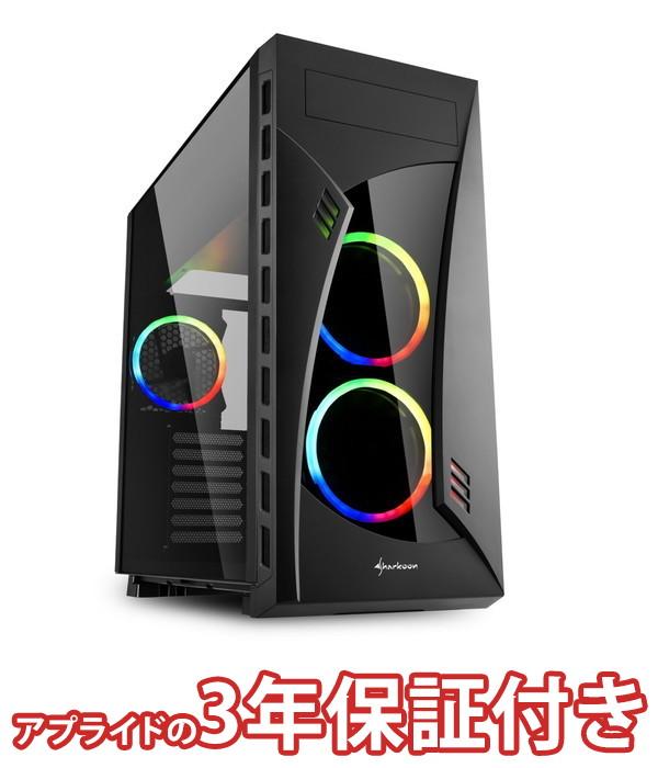 【4/1 24時間限定!全品ポイント最大22倍!!】(3年保証 BTOパソコン) ゲーミングデスクトップパソコン Core i5 8400 DDR4 8GB SSD 240GB HDD - 500W 80PLUS Bronze Geforce GTX1050Ti BGI58400S02FF14V01 Barikata Games
