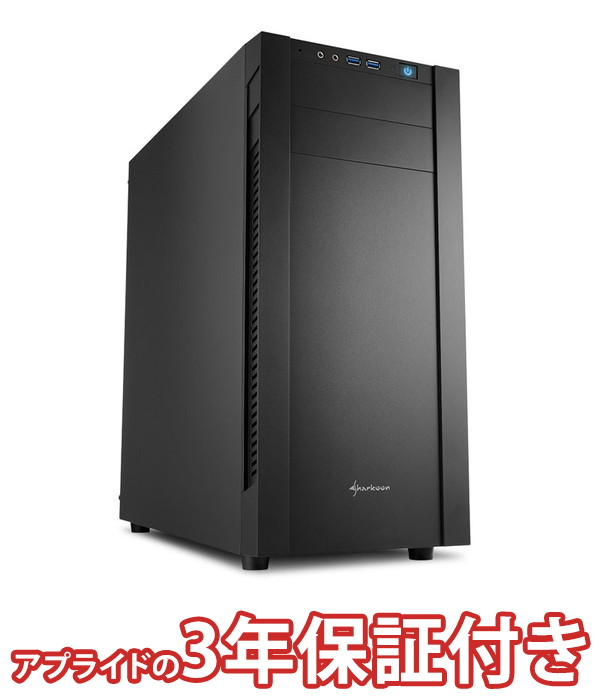 【4/1 24時間限定!全品ポイント最大22倍!!】(3年保証 BTOパソコン) ゲーミングデスクトップパソコン Core i5 8400 DDR4 8GB SSD 240GB HDD - 500W 80PLUS Bronze Geforce GTX1050Ti BGI58400S02FF14V06 Barikata Games