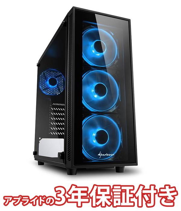 【4/1 24時間限定!全品ポイント最大22倍!!】(3年保証 BTOパソコン) ゲーミングデスクトップパソコン Core i7 8700 DDR4 8GB SSD 240GB HDD - 650W 80PLUS Silver Geforce RTX2060 BGI78700S02FF1502 Barikata Games