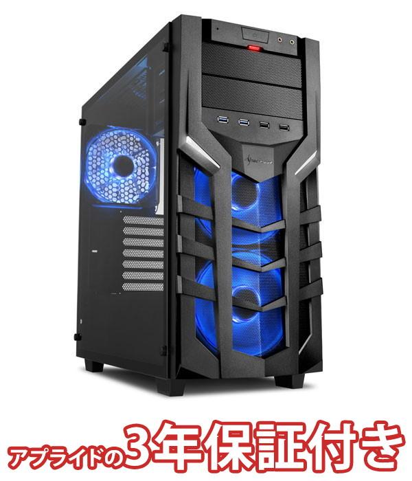 【4/1 24時間限定!全品ポイント最大22倍!!】(3年保証 BTOパソコン) ゲーミングデスクトップパソコン Core i7 8700 DDR4 16GB SSD 480GB HDD 3TB 650W 80PLUS Silver Geforce RTX2070 BGI78700S03FF14V09 Barikata Games