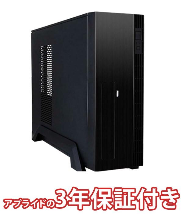 【4/1 24時間限定!全品ポイント最大22倍!!】(3年保証 BTO デスクトップパソコン)Barikata Slim BS-PE-KT02(基本構成 CPU:PentiumG5400/メモリ:DDR4 4GB/SSD:120GB/HDD:-/電源:300W/グラボ:-)(BB)