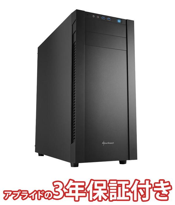 【4/1 24時間限定!全品ポイント最大22倍!!】(3年保証 BTO デスクトップパソコン) Barikata Middle BMI99900KS03 (基本構成 CPU Core i9 9900K メモリ DDR4 16GB SSD 480GB HDD 3TB 電源 500W 80PLUS Bronze)