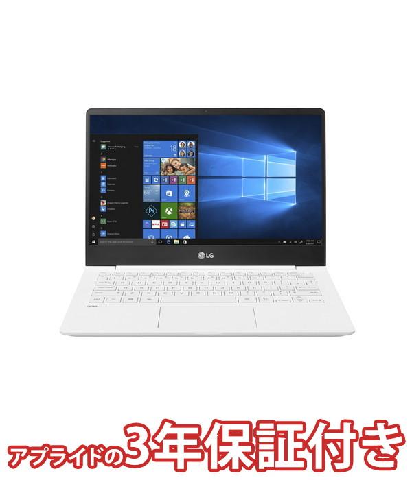 【4/1 24時間限定!全品ポイント最大22倍!!】LGエレクトロニクス LG gram 13Z990-GA55J ノートパソコン 13.3インチ ホワイト Core i5 第8世代cpu SSD 256GB メモリ 8GB Win10Home64bit (Office付きモデル)