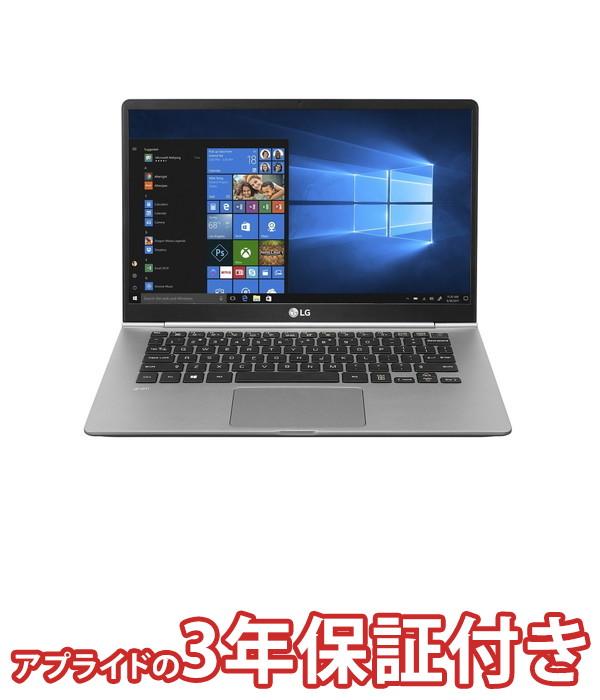 【4/1 24時間限定!全品ポイント最大22倍!!】LGエレクトロニクス LG gram 14Z990-VA76J ノートパソコン 14インチ ダークシルバー Core i7 第8世代cpu SSD 512GB メモリ 8GB Win10Home64bit (Office付きモデル)