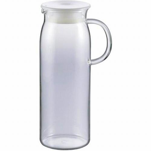 イワキ iwaki ジャグ 1000 耐熱ガラス ピッチャー セール品 ブランド買うならブランドオフ 1L 冷水筒 北海道沖縄離島は配送不可 -お取り寄せ品- KT294-W ホワイト