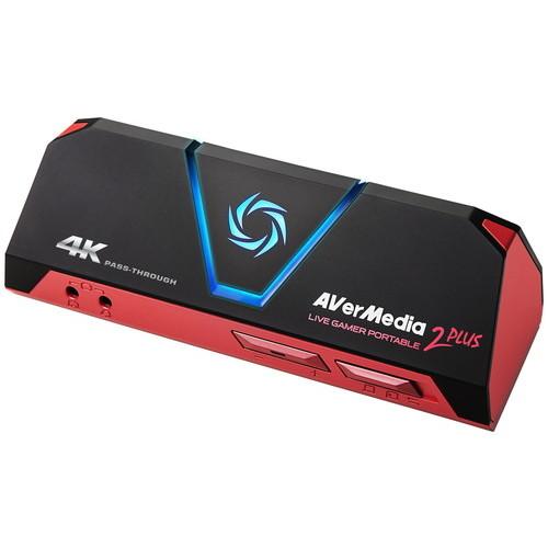 【4/1 24時間限定!全品ポイント最大22倍!!】AVerMedhia アバーメディア AVT-C878 PLUS Live Gamer Portable 2 PLUS お取り寄せ