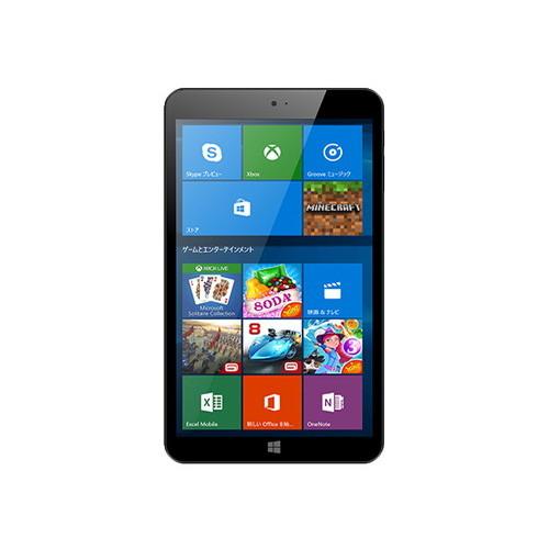 【4/1 24時間限定!全品ポイント最大22倍!!】KEIAN 恵安 8インチ WiZ Windows10 タブレットPC KI8-BK お取り寄せ