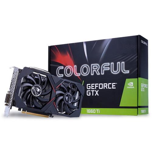 【4/1 24時間限定!全品ポイント最大22倍!!】COLORFUL グラフィックスカード Colorful GeForce GTX 1660 Ti 6G お取り寄せ