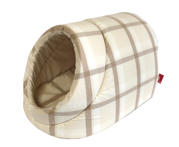 3kg以下のチワワなどに最適商品 送料無料 爆安プライス お見舞い 春夏多色チェックドーム型SS オーガニックコットン 犬猫共通商品