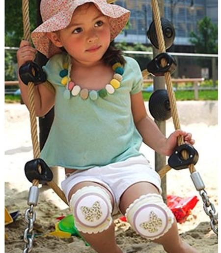 CRAWLINGS 護膝蝴蝶嬰兒護膝膝蓋依賴的支援者