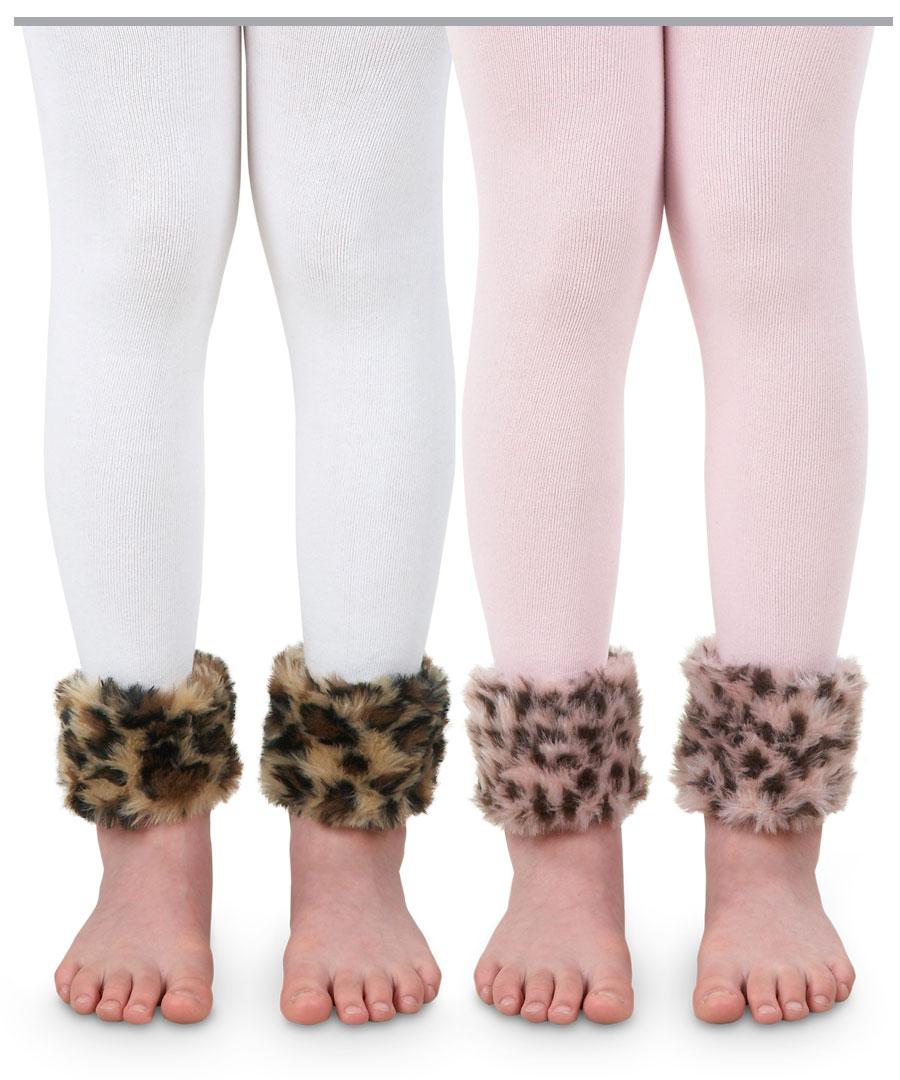 960284402adfd Child バレエレオパードファー of the kids leggings tights Jefferies socks leopard  pattern footless tights leggings ...