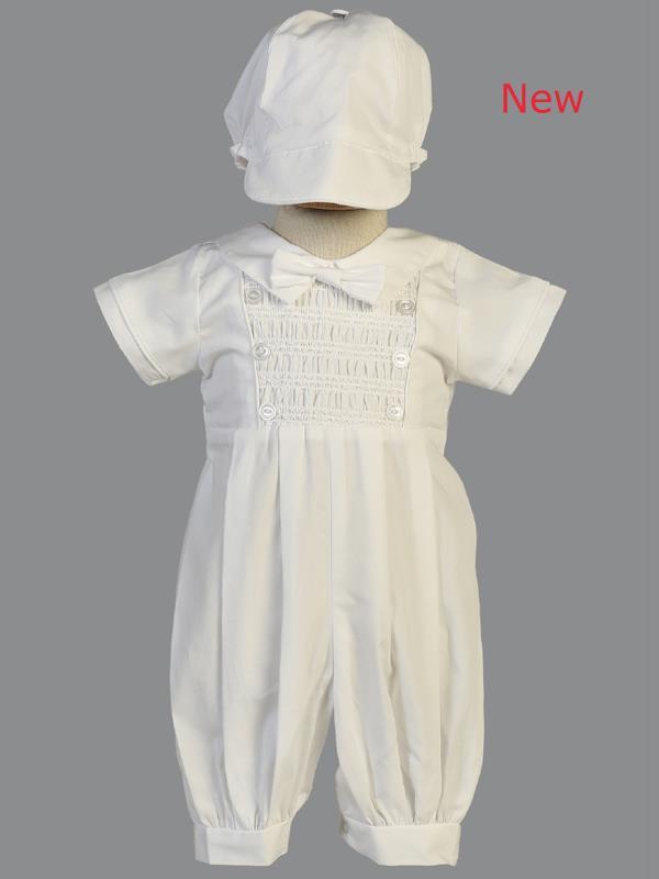 151717c895a8a Litoリト新生児コットンセレモニーロンパースIsaac蝶ネクタイ付男の子ベビーフォーマル退院着お祝い