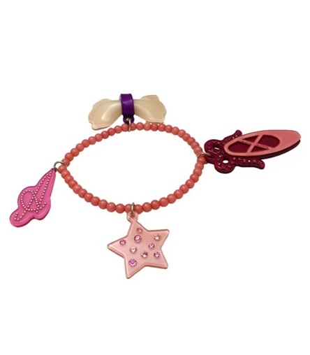 Child Swarovski Hair Accessories Of The Adelaide New York Ade Raid Ballerina Charm Bracelet Woman