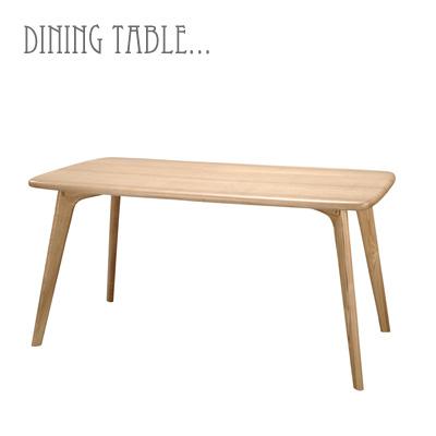 ダイニングテーブル 北欧 2人 4人 木製 カフェ テーブル おしゃれ 西海岸 食卓 ダイニング用 食卓用 食卓テーブル 長方形 150幅 アッシュ ナチュラル シンプル