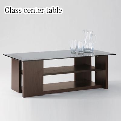 ローテーブル ガラス 100 テーブル センターテーブル おしゃれ 100幅 リビングテーブル ガラステーブル ダークブラウン カフェテーブル カフェ リビング 新生活 一人暮らし スタイリッシュ