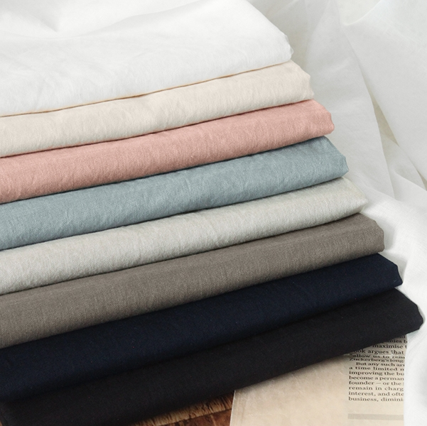 洗いをかけた 綿アイディールボイル nw加工
