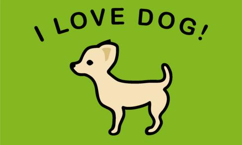 【クリーンテックス・ジャパン】オリジナルマット A-1 チワワ【ペットマット 名入れ別注 プレゼントに最適! 愛犬】