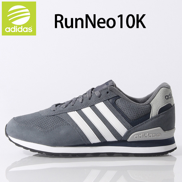 Men's sneaker shoes adidas adidas neo and its /neo/10 K [tanker] shoes men  grey / 10 K/F98292