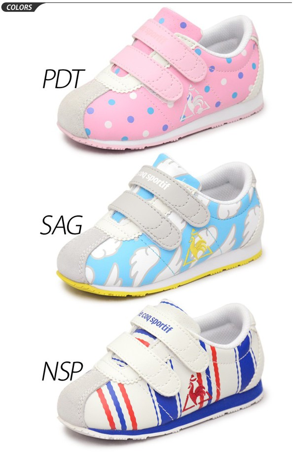 a3b4a61eaa8 APWORLD: Baby shoes kids shoes Lecoq Le Coq Sportif sneakers ...