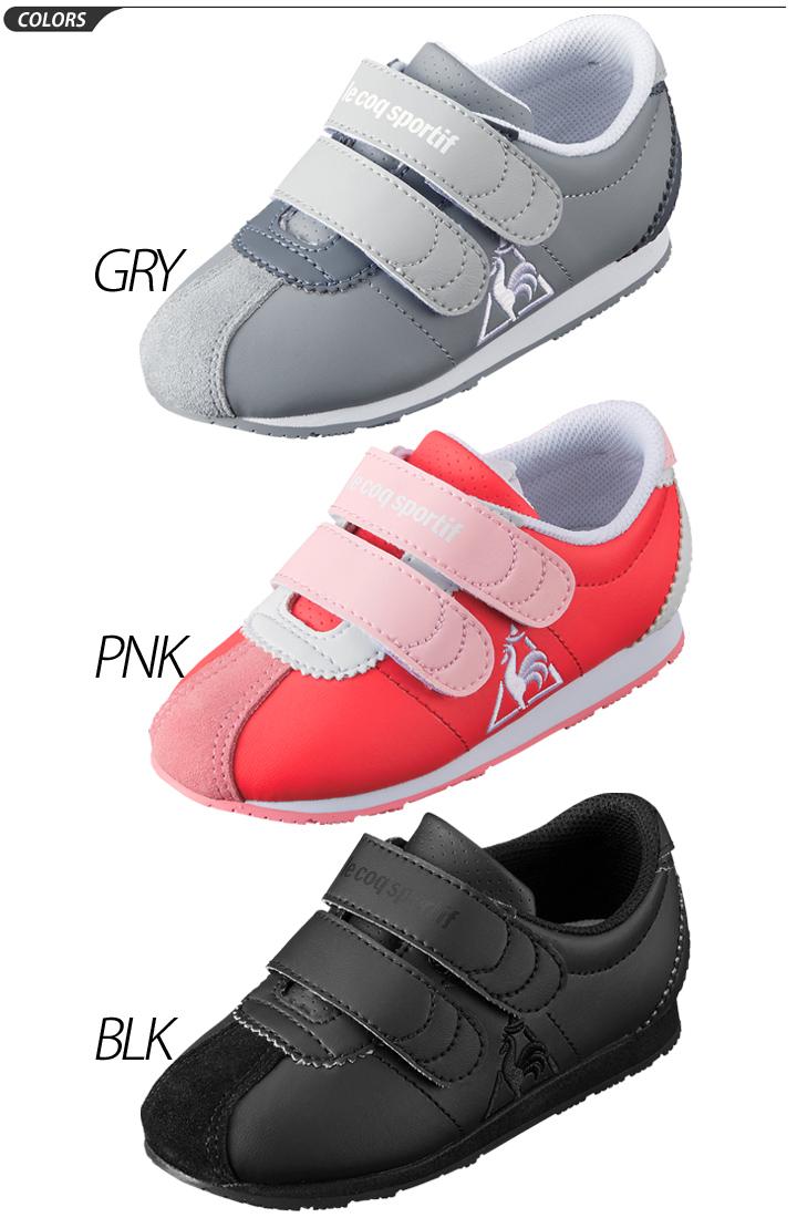 b88855b571b ... Baby shoes kids shoes Lecoq Le Coq Sportif kids sneakers Montpellier II  F/13.0-