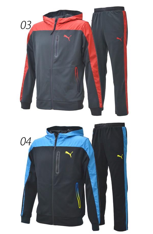 puma jogging suits. puma jersey top and bottom men\u0027s sweat suits setup 920297-920208 puma jogging