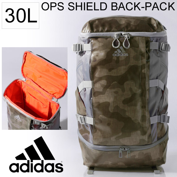Adidas adidas OPS (Opus) SHIELD Backpack Backpack 30 L   with pattern  camouflage pattern OPS DWR BP commuter school club gym  amp  fitness   BJY28 05P03Sep16 d6b4df4b5a