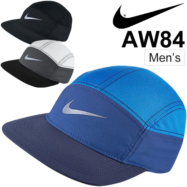 Nike NIKE running ZIP AW84 caps men s hats Swoosh logo Marathon jog walking  sports   778363   05P03Sep16 7f2abd7973a