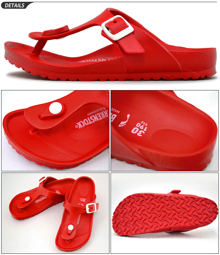 499d6e51b264 Birkenstock kids Sandals GIZEH EVA KIDS Giza thong Sandals kids shoes  genuine children s junior vilken thong type narrow width narrow BIRKENSTOCK  gizeh red ...