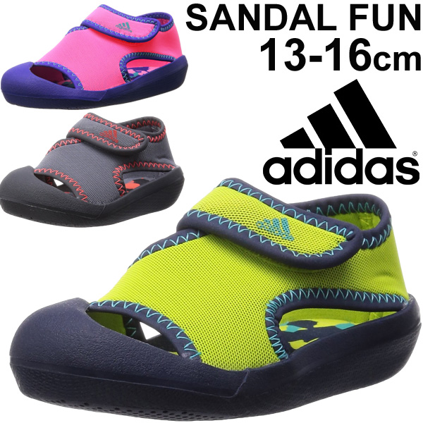 73d7ce40853d6e Adidas adidas baby Sandals kids infant Thunder fan SandslFun kids shoes  pool swimming bathing shower Sandals broker boys girls  B39861 B39862  B39863  ...