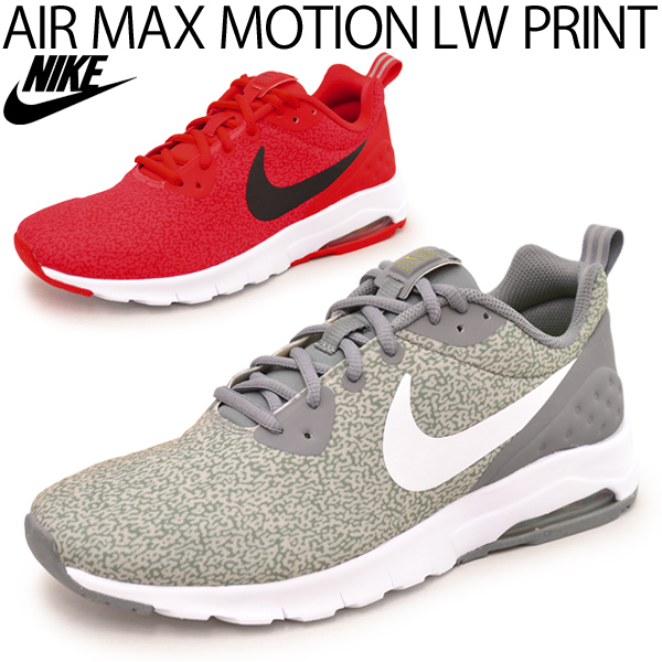 NIKE men's sneaker Nike Air Max motion LW print shoes shoes AIR MAX men's  shoes low cut casual shoes / 844835 / 05P03Sep16
