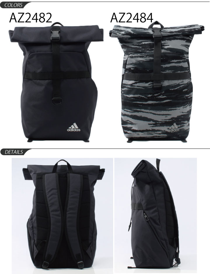 APWORLD  Adidas adidas   men s unisex Weekender roll top Backpack ... bd6a051a745ea